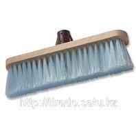 Щетка для пола, искусственная щетина с деревянным основанием