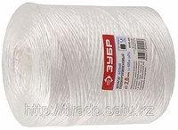 Шпагат ЗУБР полипропиленовый, 1,6ммх500м, 1,0 ктекс, цвет белый