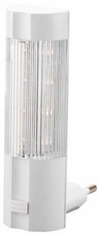 Светильник-ночник СВЕТОЗАР, 4 светодиода (LED), с выключателем, белый свет, 220В