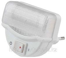 SV-57983 Светильник-ночник СВЕТОЗАР, линейная люминесцентная лампа, с выключателем, 1W, цветовая