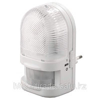 Светильник-ночник СВЕТОЗАР с датчиком движения, ЛОН-лампа, с выключателем, 7W, цветовая