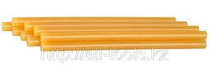Стержни STAYER для клеевого пистолета, цвет желтый по бумаге и дереву, 11х200мм, 6шт
