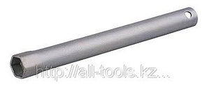 Ключ свечной СИБИН с резиновой втулкой, 21х230мм