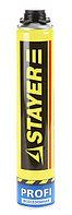 Монтажная пена STAYER «PROFI», всесезонная, для монтажного пистолета, 750мл