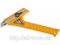 Нож OLFA двуручный с выдвижным лезвием с фиксатором, 18мм