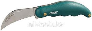 Нож садовода RACO складной,эргономичная рукоятка, лезвие из нержавеющей стали, 175 мм