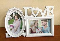 """Фоторамка """"Love"""", на 2 фото, фото 1"""