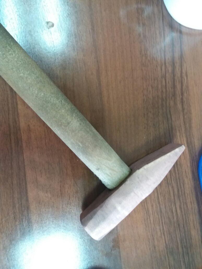 Искробезопасный молоток (омедненный)