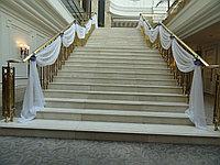 Оформление тканью - сцены, зала