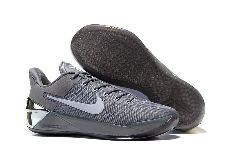 Кроссовки Nike Kobe XII (12) AD Grey White Gold (40-46)
