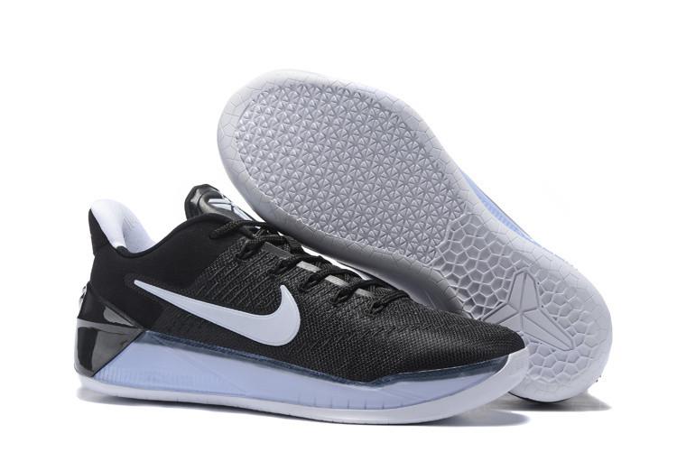 Кроссовки Nike Kobe XII (12) AD Black White (40-46)