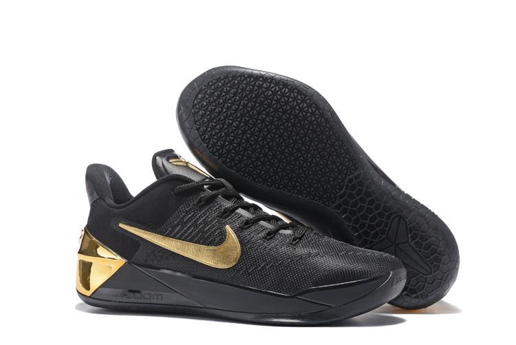 Кроссовки Nike Kobe XII (12) AD Black Gold (40-46)