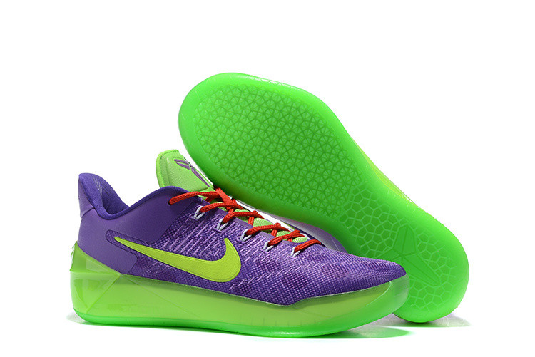 Кроссовки Nike Kobe XII (12) AD Purple Green Red (40-46)
