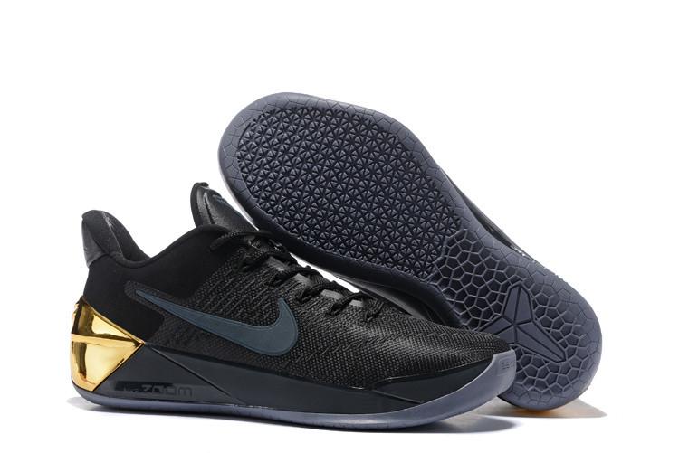 Кроссовки Nike Kobe XII (12) AD Black Gold v.2 (40-46)