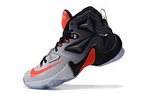 Кроссовки Nikе LeBron XIII (13) Black Grey Infrared (40-46), фото 3