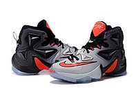 Кроссовки Nikе LeBron XIII (13) Black Grey Infrared (40-46), фото 2