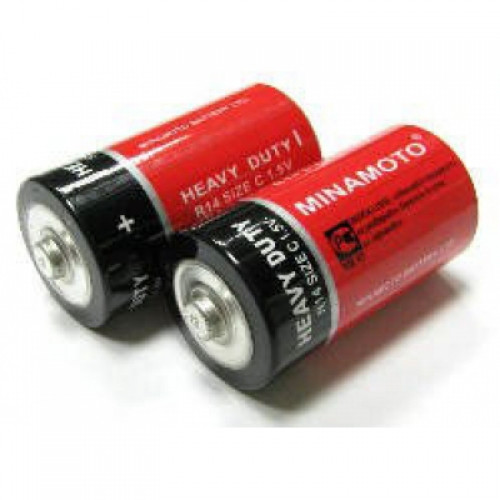 Батарейка C Minamoto Heavy Duty   LR14