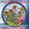 CD с шаблонами витражей «Цветы»