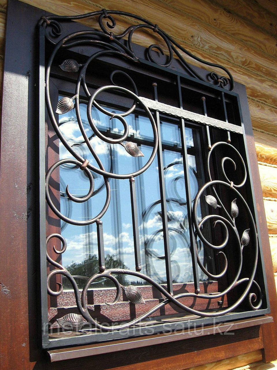 Кованые решетки для окон и дверей на заказ. Алматы - фото 2