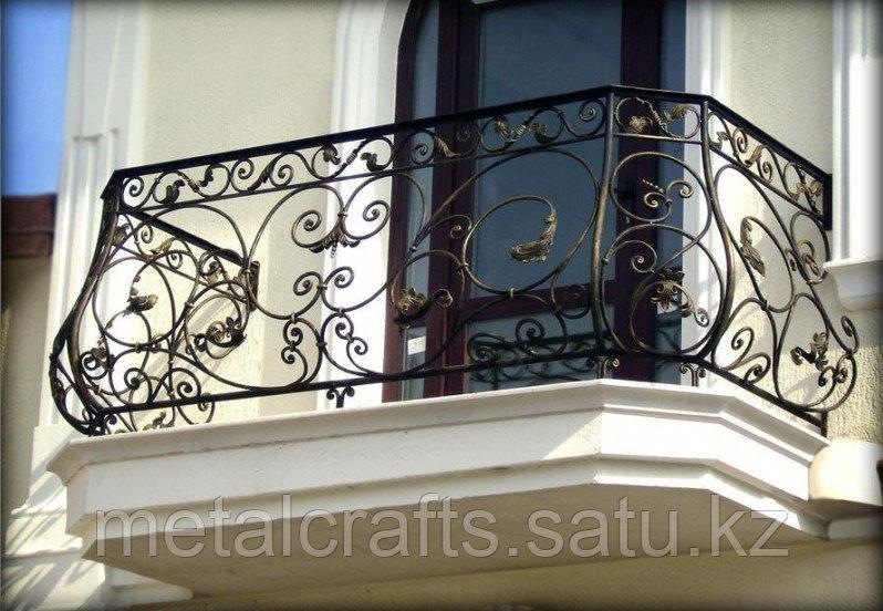Кованые решетки для окон и дверей на заказ. Алматы - фото 5