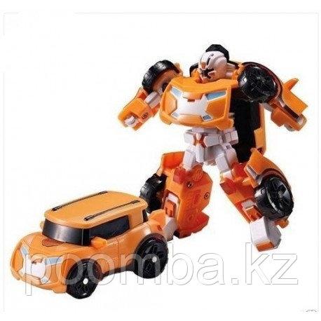 Трансформер Mini Tobot X с наклейками