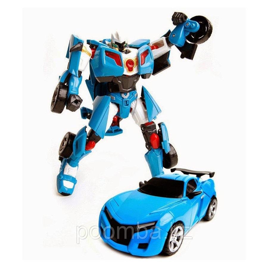 Трансформер Mini Tobot Y с наклейками