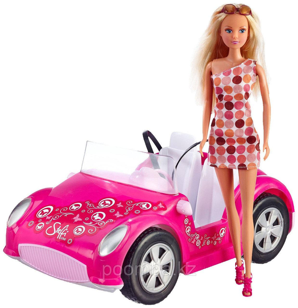 Кукла Штеффи на кабриолете