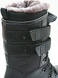 Сапоги ХСН (520-1) Лось Зима, нат мех, кожа/ткань р.41-45, фото 3