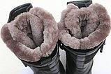 Сапоги ХСН (520-1) Лось Зима, нат мех, кожа/ткань р.41-45, фото 4