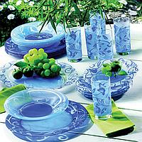 Чайно-Столовый сервиз Luminarc Plenitude Blue 38+7 предметов на 6 персон, фото 1