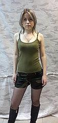 Женские шорты, камуфлированные