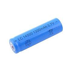Аккумулятop 3,7v 1300mAh Li-ion LC14500 типа АА