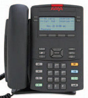 Avaya (Nortel) IP Phone 1220 Charcoal with Icon Keys with Power Supply