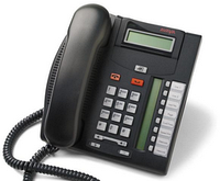 Avaya (Nortel) T7208 Telephone Charcoal, фото 1