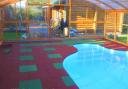 Покрытие для детских площадок и тренажерных залов (50мм)