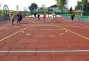Покрытие для детских площадок с шипами (50мм)