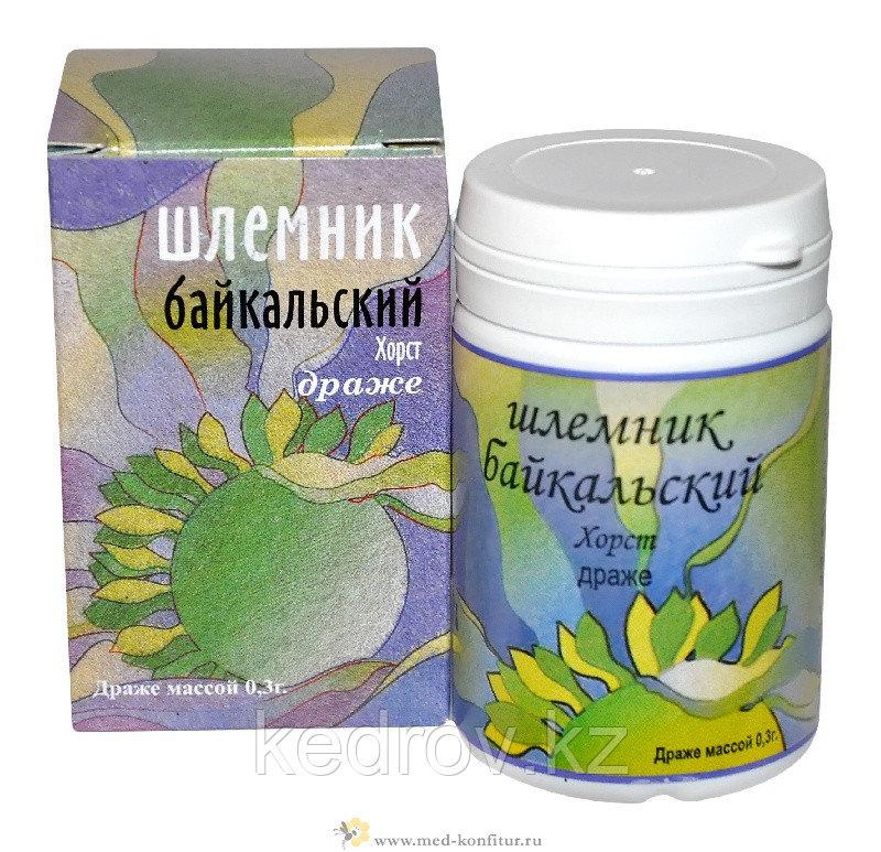 Шлемник байкальский, (корень), драже 50 гр.