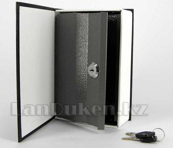 Книга-сейф The New English Dictionary черная 265х200х65 мм большая - фото 3