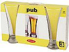 Набор бокалов Pasabahce Pub для пива 3 шт. 42199, фото 2