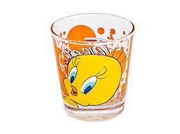 Набор стаканов для сока Pasabahce Tweety 42874 (180 мл, 3 шт)