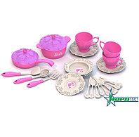 Набор кухонной посудки БАРБИ (25 предметов в коробке)
