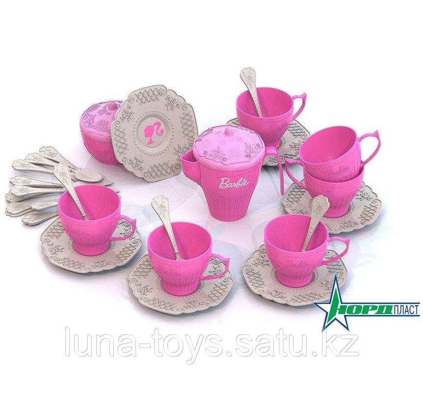 Набор чайной посудки БАРБИ (34 предмета в коробке)