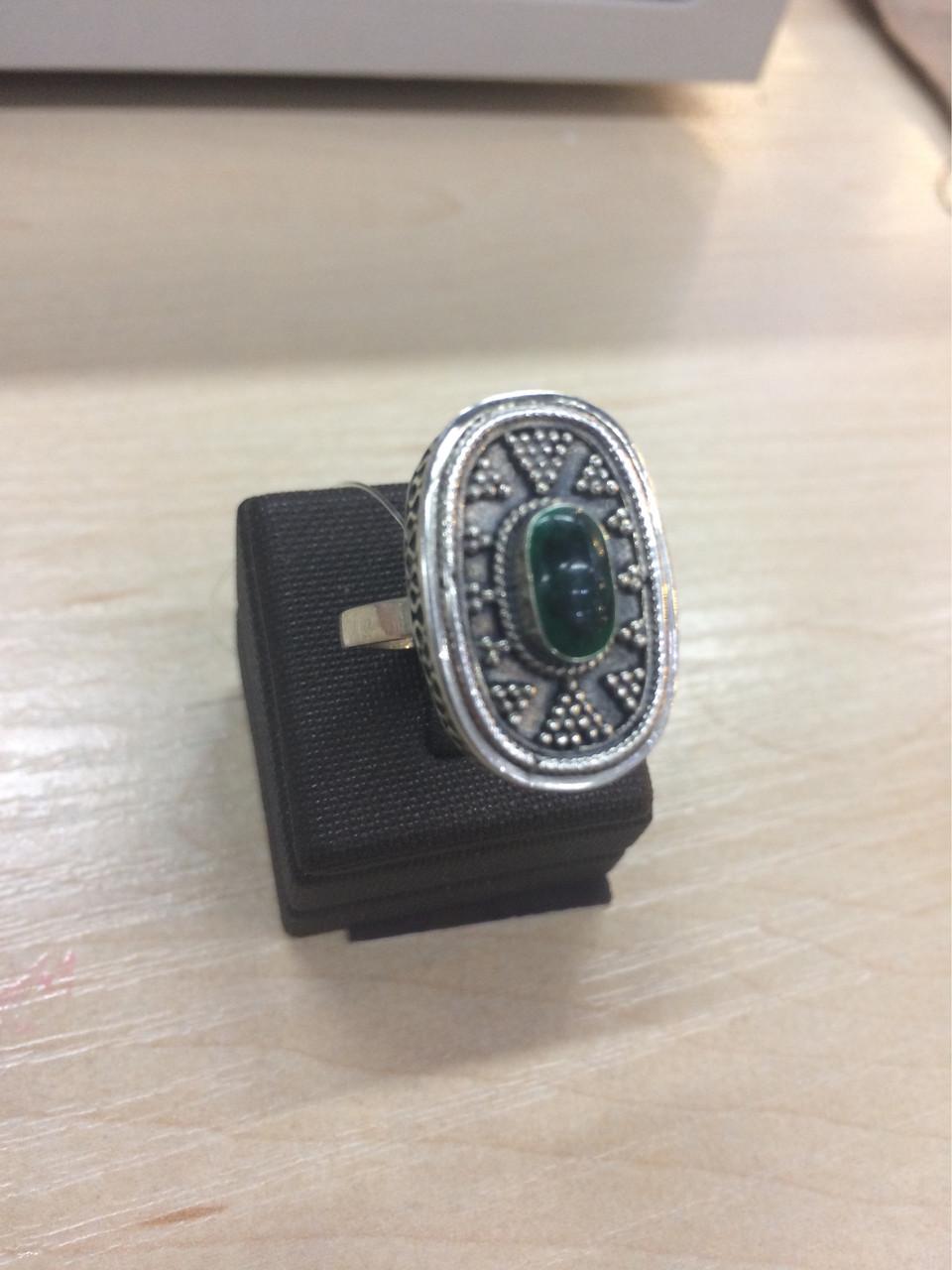 Кольцо Балауса / размер 18 (регулируется) / эмаль