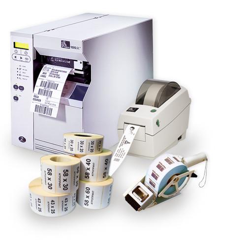 Принтеры для печати этикеток, расходные материалы