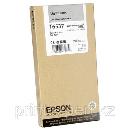 Картридж C13T653700 for Stylus Pro 4900 Ink Cartridge (200ml) : Light Black, фото 2