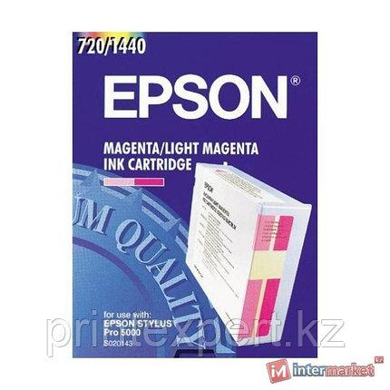Картридж Epson C13S020143 STYLUS PRO 5000 светло-пурпурный, фото 2