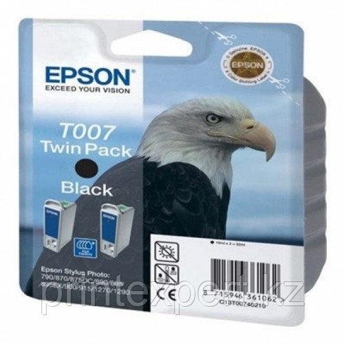 Картридж Epson C13T00740210 STYLUS PHOTO 870/1270 черный, набор 2 шт.