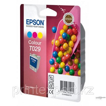 Картридж Epson C13T02940110 STYLUS C60 цветной, фото 2