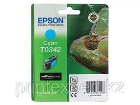 Картридж Epson C13T03424010 SP2100 голубой, фото 2