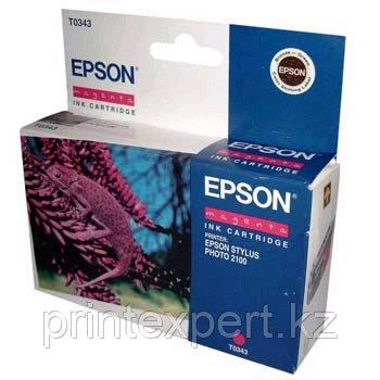 Картридж Epson C13T03434010 SP2100 пурпурный